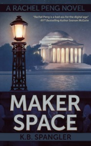 MAKER SPACE was the Jefferson Memorial. Jefferson was a maker, so this seemed appropriate.