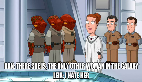 """Probably the only time I'll ever reference """"Family Guy"""""""